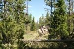 Horsebacking the Wild West way